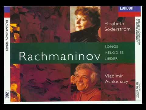 Rachmaninov Lieder Fifteen Songs Op 26 (1-2-3)