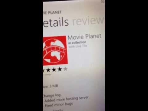 best free movie app on any Nokia lumia