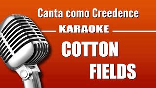 Creedence - Cotton Fields - Karaoke Vision