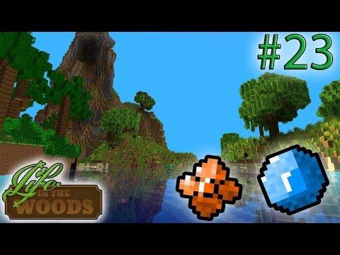 EXPLORANDO O MUNDO, SAFIRA E TOPAZ! - Life In The Woods #23 - Minecraft