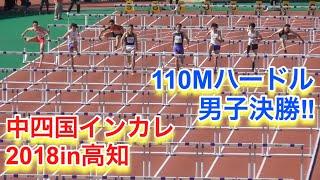 110Mハードル 男子決勝【中四国インカレ2018】