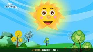 Edewcate english rhymes | Mr Sun Sun Mister Golden Sun Nursery Rhyme