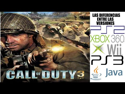 Las Diferencias entre las versiones de Call of Duty 3