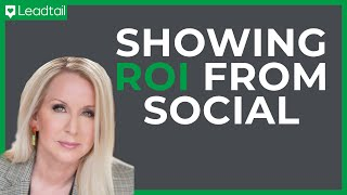 Tamara McCleary: Where is Your ROI on Social