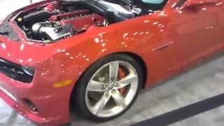 Chevrolet Camaro LS7 Concept Car Videos