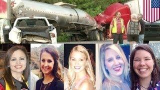 Пятеро студенток из школы подготовки медсестёр из Джорджии погибли в страшной автомобильной аварии(, 2015-04-29T07:38:44.000Z)