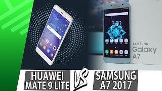 Huawei Mate 9 Lite VS Samsung A7 2017 | Enfrentamiento | Review | Unboxing