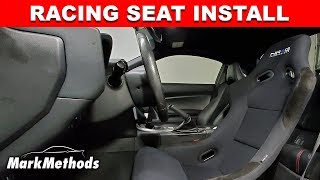 How To Install Aftermarket Seats / NRG / Buddy Club Seat Rails BRZ