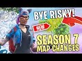 Download *NEW* SEASON 7 MAP CHANGES & LOCATIONS in FORTNITE BATTLE ROYALE!!