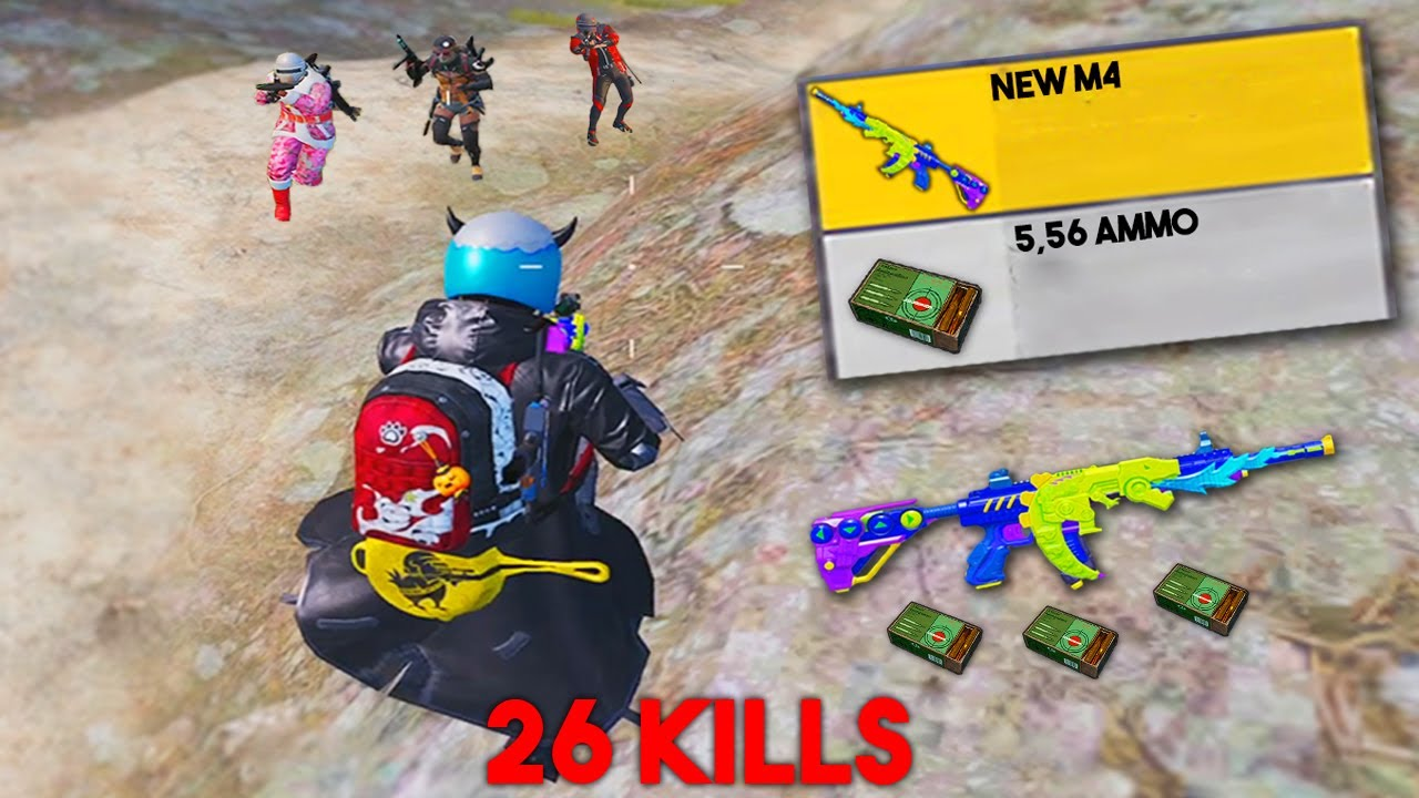 NEW M4 IS EPIC! | PUBG MOBILE