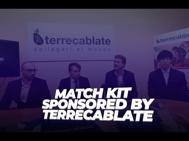 Conferenza stampa - New match kit sponsored by Terrecablate