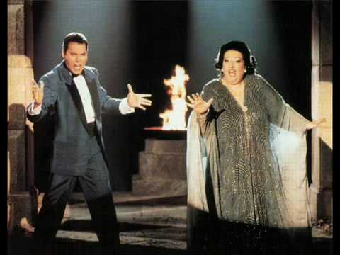 Freddie Mercury  Montserrat Caballé  Ensueño Con Letramp4
