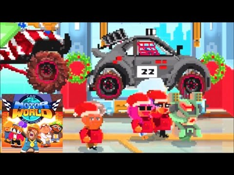Motor World - Car Factory - Lev 48 Building Crazy Cars!! (Addicting Mobile Games)