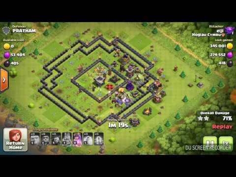 100% | 3stars, best attack or worst defense? |clash of clans