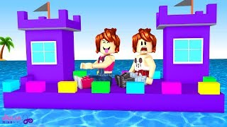 Roblox - BARCO CASTELO DA ALEGRIA (Build A Boat For Treasure)
