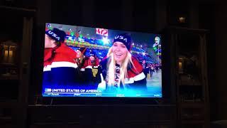Team USA Entering the Winter Olympics 🇺🇸