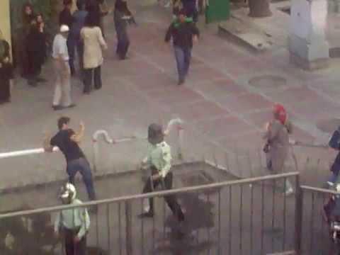 Iran Protests Tehran Vali Asr July30 2009 Direct Shooting at People