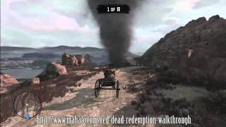 Red Dead Redemption Walkthrough -  Liars, Cheats and Other Proud Americans (Part 12)