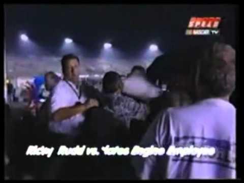 Ricky Rudd Fight At Richmond, 2002