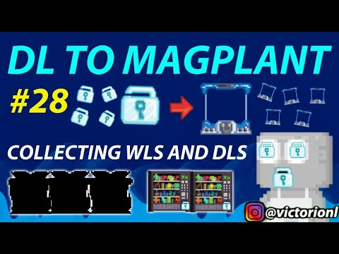 COLLECTING WLS & START NEW PROJECT!!🔥|DL TO MAGPLANT #28 - GROWTOPIA