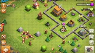 Clash Of Clans episodio #2 Un dia en el clan con batallas y recursos^^