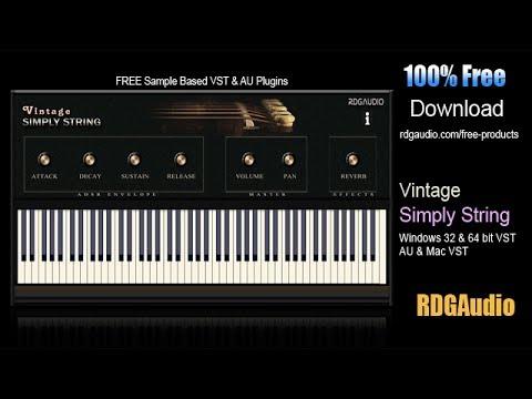 KVR: vintage simply string by RDGAudio - String VST Plugin