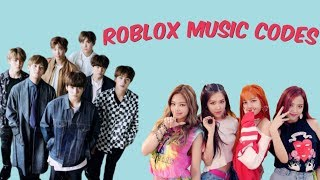 BTS & Blackpink Roblox Music Codes| Roblox| Roblox Girl Gamer|