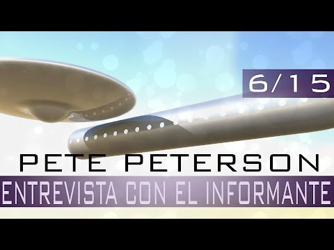 Pete Peterson, ENTREVISTA CON EL INFORMANTE