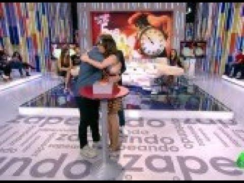 El emotivo gesto de Ana Morgade con Miki Nadal que enternece al plató de Zapeando