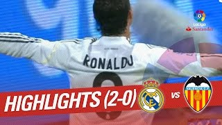 Resumen de Real Madrid vs Valencia CF (2-0) 2009/2010