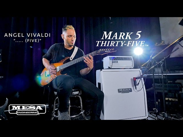 "Tone Sessions: Angel Vivaldi – Mark Five 35 & Recto 4x12 Standard Slant – ""….. (Five)"""