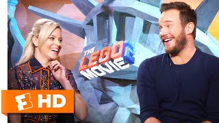 Chris Pratt & Elizabeth Banks Act Crazy in the Recording Booth   'The LEGO Movie 2' Interview