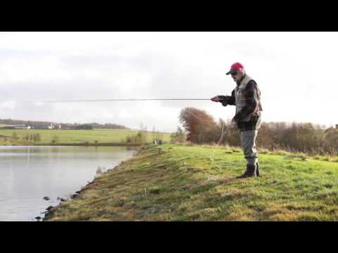 Distance Casting And Fishing Using 5 Weight Outfit With James Tomlinson