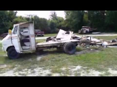 Trashed Dodge Motorhome Junk It Or Modify Youtube