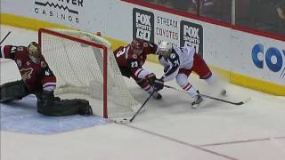 Smith stops Foligno with jamming toe save