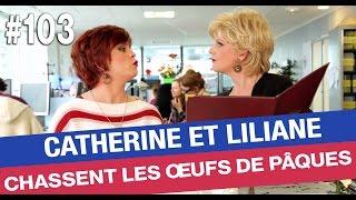 Catherine et Liliane participent à la grande chasse aux œufs de Canal+