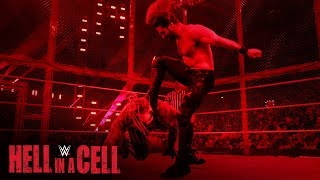 """Seth Rollins hits """"The Fiend"""" Bray Wyatt with a Stomp: WWE Hell in a Cell 2019"""