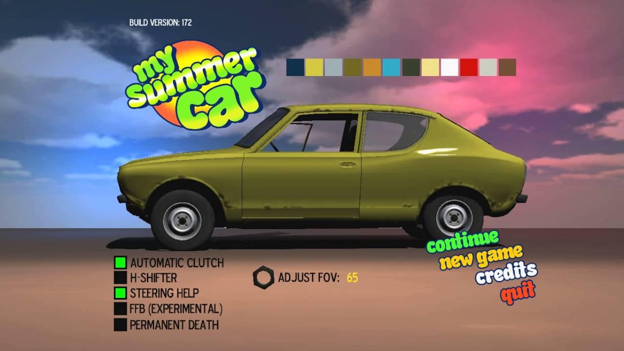 сохранение my summer car готовая машина