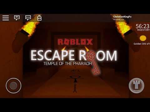 Roblox Escape Room Pharaoh