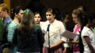 """I Wanna Be Your Hands and Feet"" - NGHF Youth Camp Teen Choir 2010"