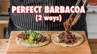 Perfect Homemade Barbacoa Tacos (2 Ways)