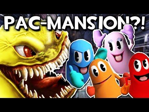 PACMAN HAUNTED MANSION?! | Gmod Sandbox (PACMAN PILL PACK!)