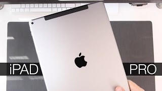 iPad Pro Space Gray Unboxing & Overview
