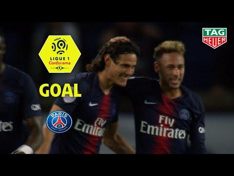 Goal Edinson CAVANI (44') / Paris Saint-Germain - Stade de Reims (4-1) (PARIS-REIMS) / 2018-19