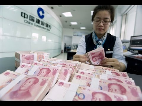 USD/CNH –China's Renminbi Hits a 5 Year Low
