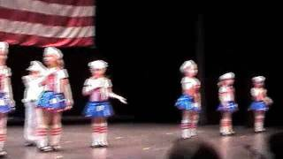Twins fighting at Dance recital