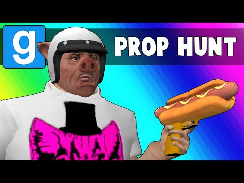 Gmod Prop Hunt Funny Moments - Getting Back in Shape! (Garry's Mod)