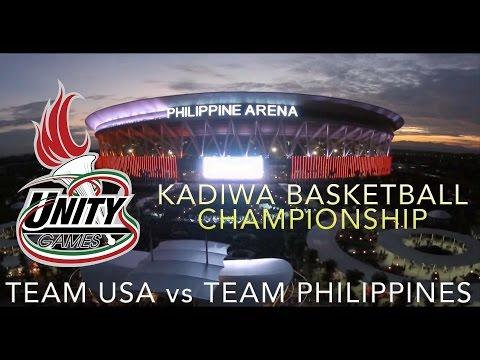International Unity Games: Kadiwa Basketball Championship