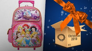 Most Wished For Princess Girls Backpacks / Perfect Gift Ideas For Girls | Christmas Gift Guide