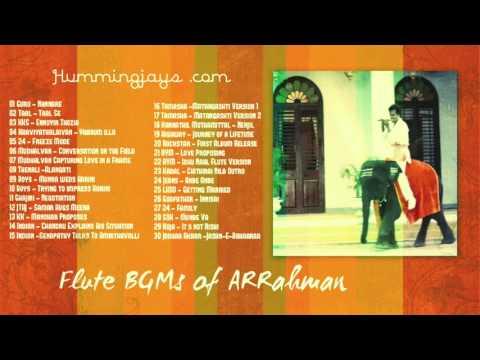 Flute BGMs of A.R.Rahman | Hummingjays.com